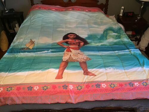 Disney Moana Full Size Reversible Comforter