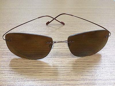 Lightweight Titanium alloy Rimless Polarized Sunglasses - 100%UVA/UVB (Lightweight Sunglasses Polarized)