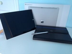 Tablette microsoft surface 3 + stylet + case
