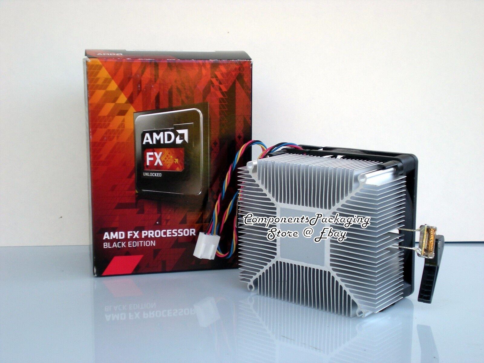 AMD FX Heatsink CPU Cooler Fan for FX-8320E FX-8370E 95 ...