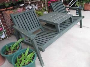 Outdoor twin bench seat Sebastopol Ballarat City Preview