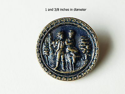 Кнопки Antique Brass Button. Shipping is