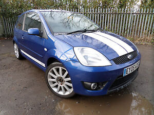 ford fiesta st 150 mk6 blue breaking spares 2002 2008 zetec s ebay. Black Bedroom Furniture Sets. Home Design Ideas