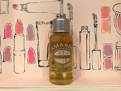L'Occitane Amande Cleansing and Softening Shower Oil w/ALMOND OIL! NEW TRAVEL 2.