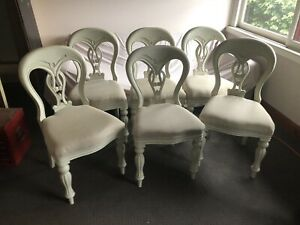 Solid comfortable dining chairs