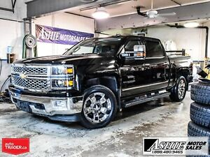 2015 Chevrolet Silverado 1500 LTZ CREW! NAV! ROOF! LEATHER!
