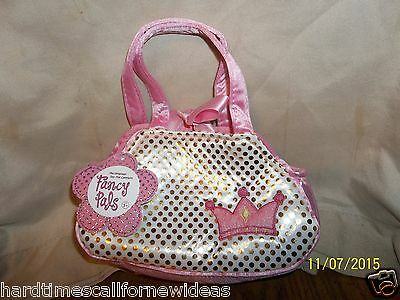 AuroraFancy Pals Pet Carrier Pink Princess Crown With Tag ()