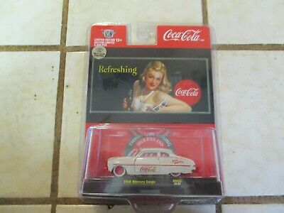 M2 Machines Coca-Cola 1949 Mercury Coupe Red Chase 1 of 750