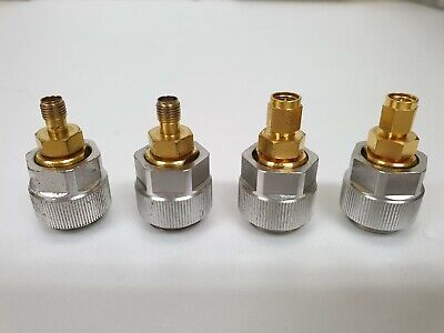 Agilent 7mm To 3.5mm-male 7mm To 3.5mm-female Apc7 To Smamf 85033d 4set