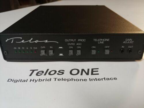 Telos One Digital Hybrid Telephone Interface