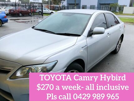 Uber/ ola hire or rent - Toyota Camry Hybird Cannington Canning Area Preview