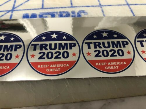Funny TRUMP 2020 ROUND  Hard Hat Sticker Construction Decal