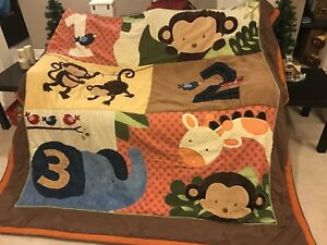Jungle/Monkey Quilt Set