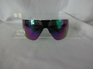 Vintage GARGOYLES ANSI Terminator Classic Mirrored Black Sunglasses 85mm