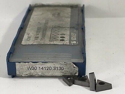 Komet W30 14120.3130 Tohx090202el-uf 12 New Carbide Inserts Grade Ck30 4pcs