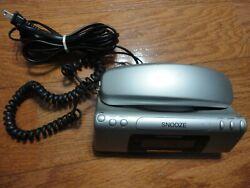 Conair TCR-200MS Alarm Clock AM/FM Radio Telephone Phone