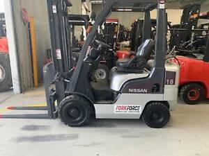 Nissan 1800kg LPG Forklift Larapinta Brisbane South West Preview