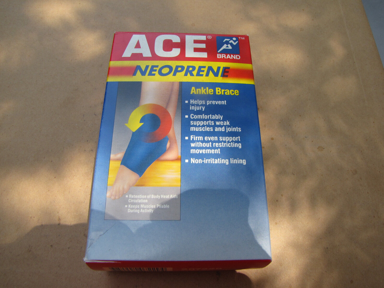 """Ace Ankle Brace Neoprene SMALL 7""""-8""""    FREE SHIPPING 207229"""