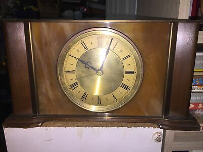 Metamec Retro Mantel Clock Vintage - Battery Operated - Needs Attention