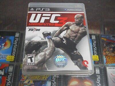 UFC Undisputed 3 (Sony PlayStation 3, 2012) CIB comprar usado  Enviando para Brazil