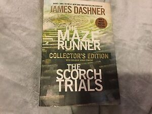 The Maze Runner and Scorch Trials 2 in one Book