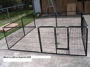 BRAND NEW Pet Dog Encl Play Pen Run-80cmHx120cmWx8 PANEL Kingston Logan Area Preview