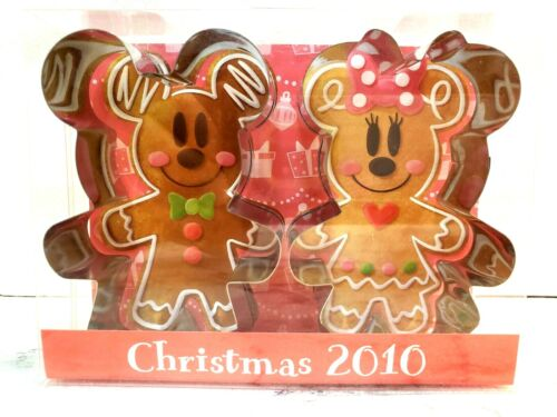 TOKYO Disney GingerBread Mickey Minnie Stainless Cookie Cutter Making sweets NEW