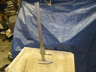 """McGrath 24"""" indicator stand height gauge vernier gage lk/ mitutoyo starrett inch"""