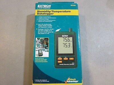New - Extech Sd500 Humidity Temperature Datalogger - Free Shipping