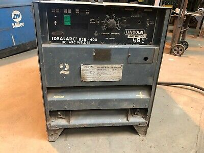 Lincoln Arc Welder Ideal Arc R3r-400 3 Phase 230460v