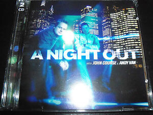 A-Night-Out-Mixed-By-John-Course-Andy-Van-2-CD-Vicious-Vinyl-Records