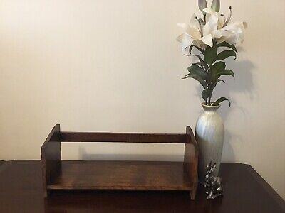 Vintage Wooden Oak Free standing Book Shelf