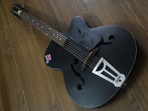 Givson-Acoustic-Guitar-Crown-Special-Black-Matt