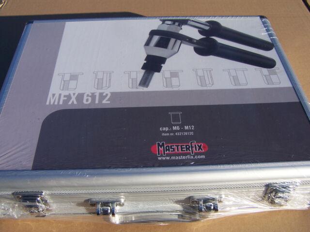 Masterfix Nietmutternratsche M6 - M12 MFX612 im Koffer