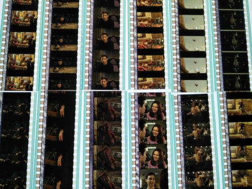 Spider-Man 2002 Movie 60 x 35mm Film Cell Cells 12 x Strips Frames Reel Marvel C