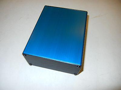 Aluminum Project Box Enclosure 2x4x5 Model Gk4-5 Blue Color