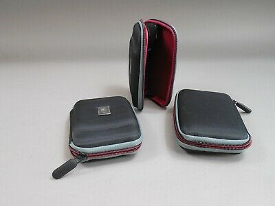 Lot of 3 Western Digital WD Black/ Red Hard Case For My Passport