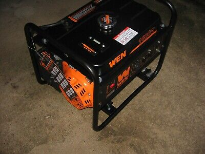 New 1600 Watts Portable Generator 4 Cycle Engine Ideal Power Outage Wt. 53 Lb