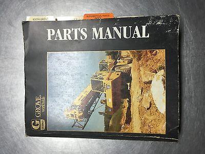 Grove Crane Parts Manual Tms300 Sn 69799