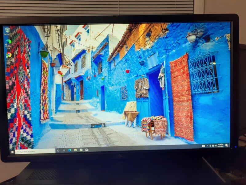 """Lot of 4 Monitor Dell P2412Hb 24"""" 1920 x 1080 DVI VGA No Stand"""