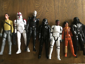 Star Wars toy play figures