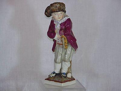 "Antique Meissen Porcelain Figurine of ""The Ice Skater"""