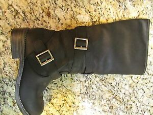 NEW ROCKET DOG GRETTA HIGH TALL RIDING  BOOTS WOMENS 6 BLACK