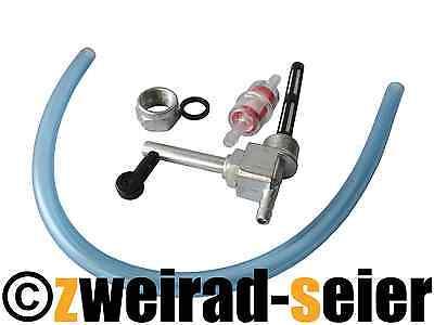 Set Benzinhahn Hahn, Schlauch, Benzinfilter Simson Schwalbe SR50, SR80