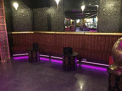 Used, restaurant bench Booth seating, hotels, bar furniture, cafe, bench seating. for sale  West Bromwich