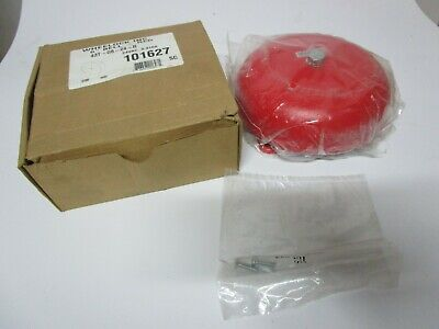 1 Wheelock 6 Fire Alarm Bell Red Series 43t-g6-24 R 101627 24vac .410a Nos