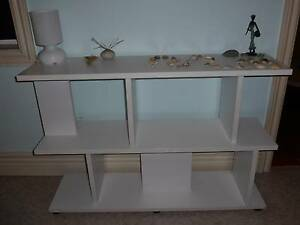 White display/book shelving unit North Narrabeen Pittwater Area Preview