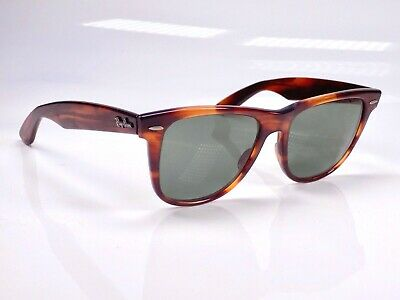 Vintage 1980's B&L Ray Ban Wayfarer II, L1725, 54mm Lens, (Ray Ban Round Wayfarer Sunglasses)