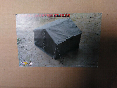 Discontinued WWII german Military Tent for 1/6 scale action figures by toys city