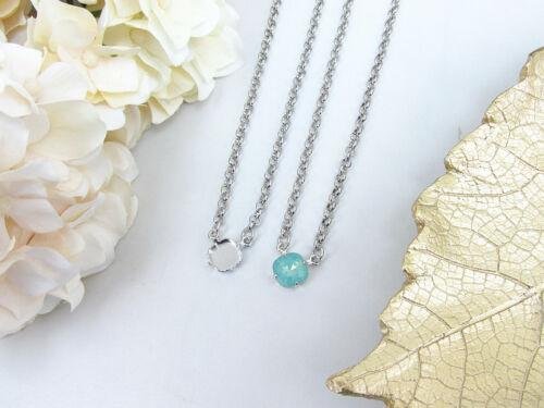 10mm Square | DIY Pendant Necklace Base | Three Pieces (#EN 206)
